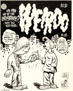 Unpublished Weirdo #18 Cover by R Crumb