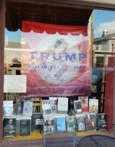 Bookstore Threatened for Anti-Trump Display