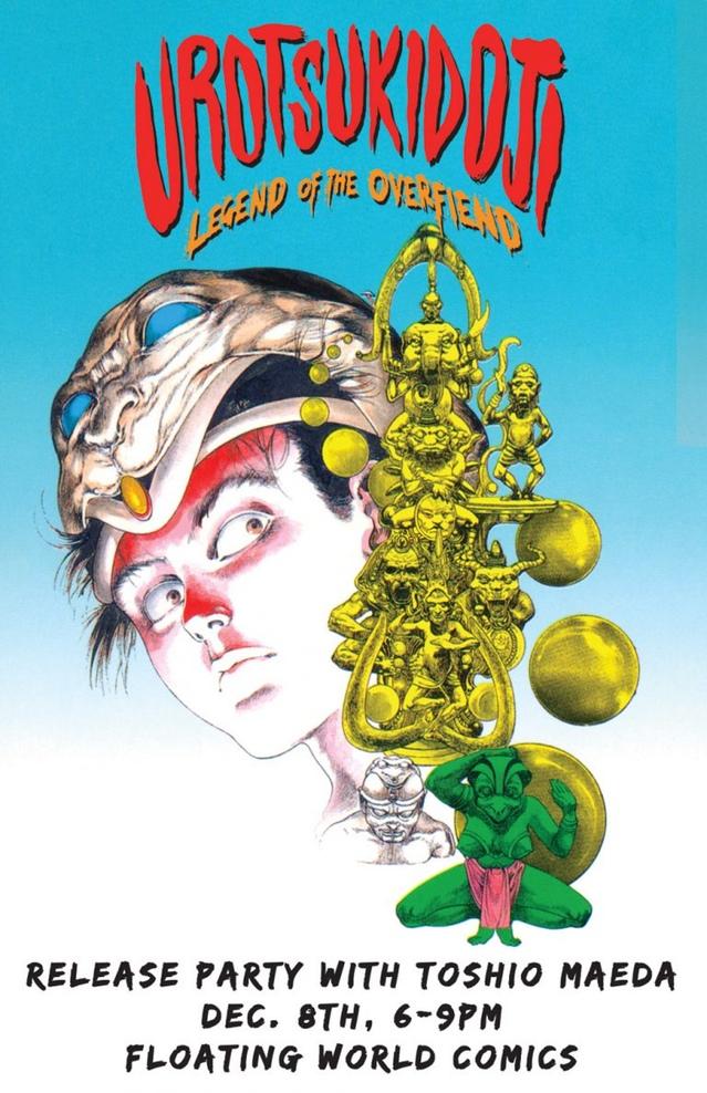 Portland: Meet Manga Great TOSHIO MAEDA Saturday!