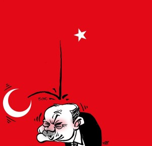 Satirical Cartoon Blog Post Blocked in Turkey