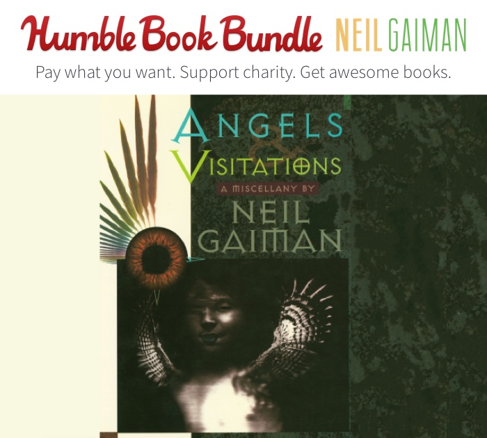 Neil Gaiman's Rarest Works Benefit Charity This Holiday Season!