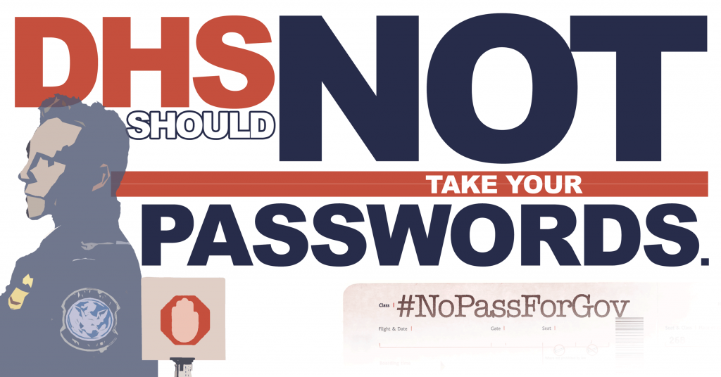CBLDF Joins Condemnation of Proposed DHS Password Policy