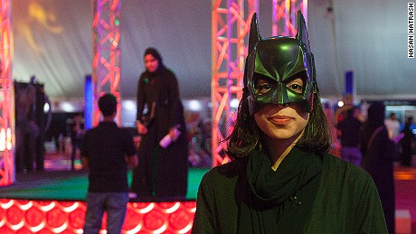 Saudi Fans Flock to Kingdom's First Comic Con