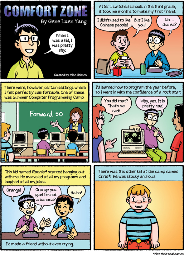 "Gene Yang Encourages ""Reading Without Walls"" in New Short Comic"