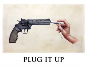 PLUG IT UP by Laura Murray