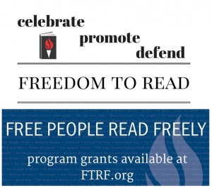 FTRF Offers Grants for Banned Books Week Programming