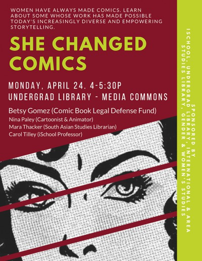 Join Us for She Changed Comics at UIUC!