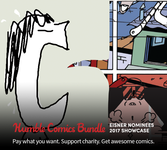 Support Charity and Sample the Industry's Best With the Humble Comics Bundle: Eisner Nominees 2017 Showcase!
