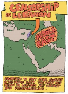 Comic Explains Lebanon's Censorship Problem