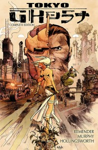Tokyo Ghost HC & More Sci-Fi GNs Signed by Rick Remender, Brian K. Vaughan, David Lloyd, and More!
