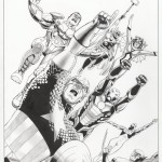 John Cassaday: Avengers World #1, Cover