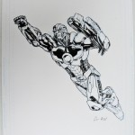 Gene Ha: Cyborg (from mural at DC's Burbank HQ)