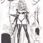 Richard Ortiz: Lady Death Unpublished Cover