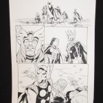 Chris Sprouse: Thors #1, P. 2 (inks by Karl Story)