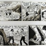 John Celardo: Two Consecutive Buz Sawyer strips (1989)