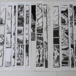 Alexis Ziritt: 31 pages of original art from Rudo vs. Los Chupasangres #1-2 and Mekano Turbo