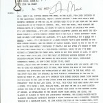 Alan Moore: Swamp Thing #51 Signed Script Copy