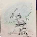 Sergio Aragones: Original Groo Sketch
