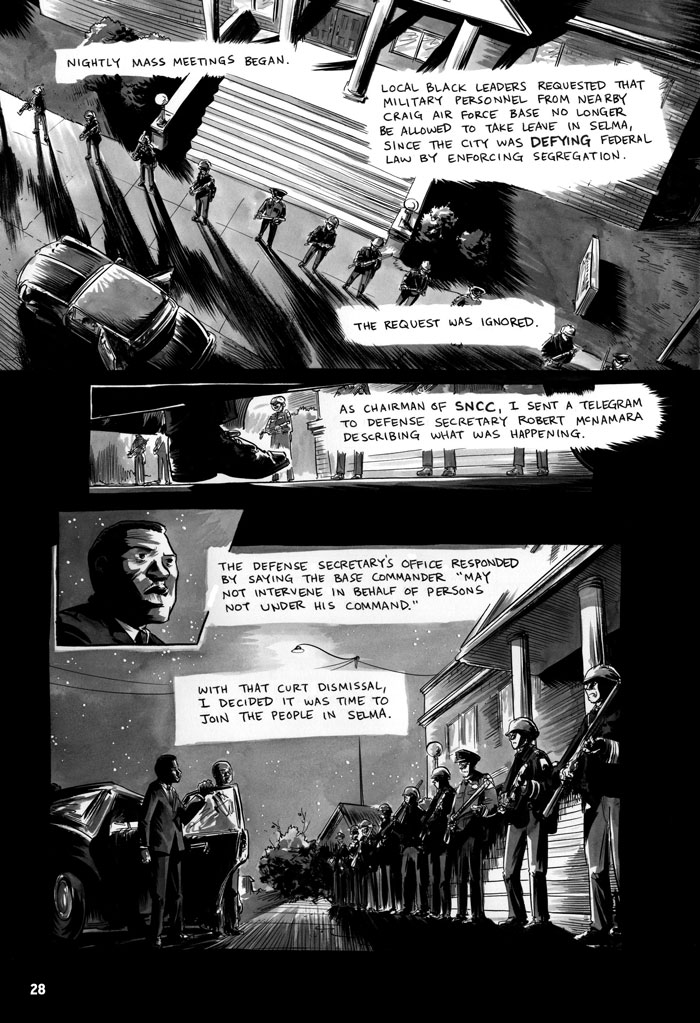 Using Graphic Novels In Education March Book Three Comic