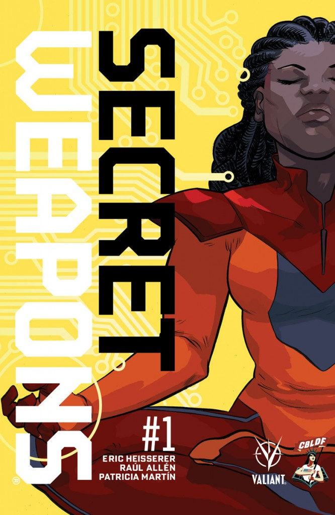 SDCC 2017: Valiant and CBLDF Unveil SECRET WEAPONS #1 SDCC Liberty Variant by Eisner Award Nominee Erica Henderson!