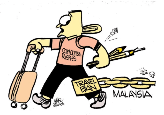 Another Delay for Zunar in Challenge to Personal Travel Ban