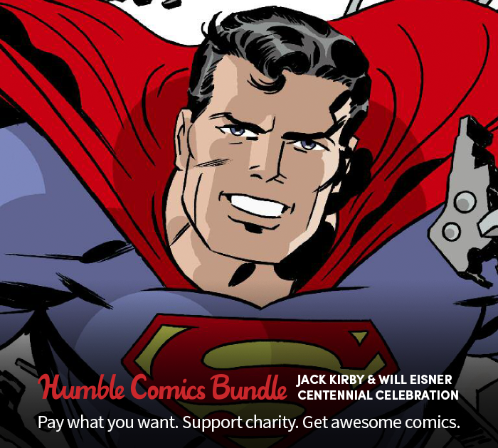 Announcing the Humble Comics Bundle: Jack Kirby & Will Eisner Centennial Celebration