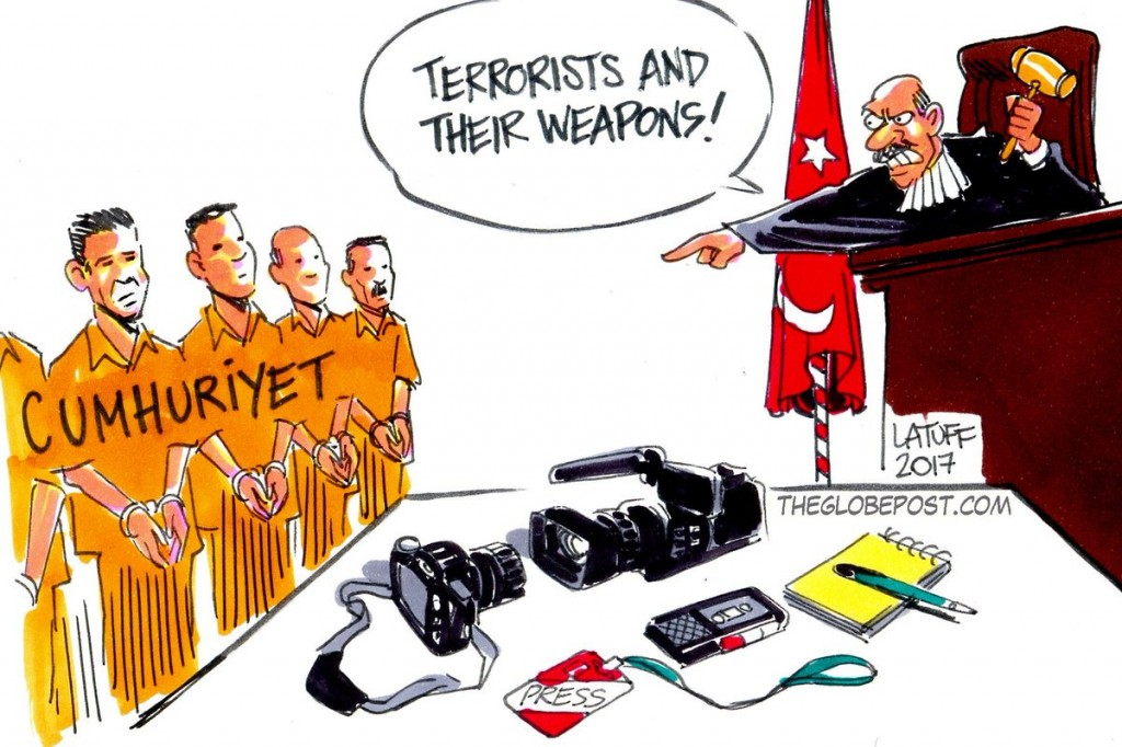Latuff Sounds Alarm for Free Expression in Turkey