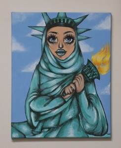 Hijabi Statue of Liberty