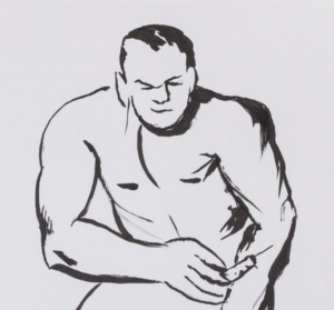 Raymond Pettibon Original Art From CAB Benefits CBLDF on Heritage!