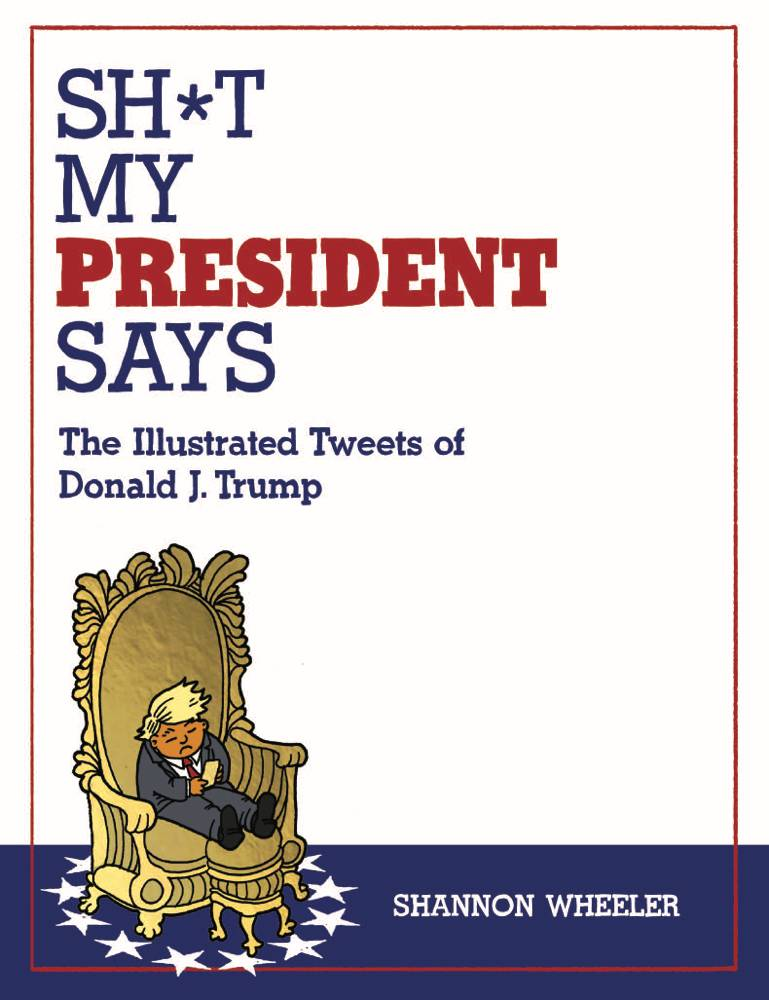 Trump Tweets Benefit CBLDF!