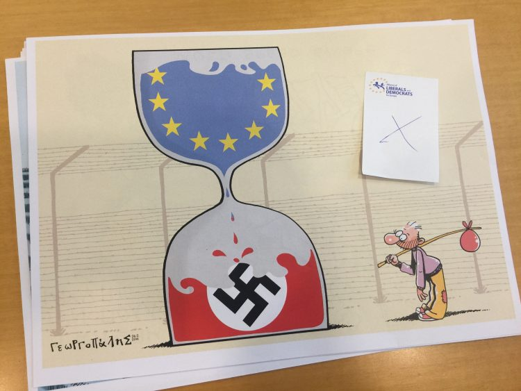 Twelve Cartoons Rejected from European Parliament Exhibition