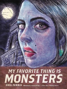 Get Ready for Halloween with My Favorite Thing Is Monsters & More Signed GNs!