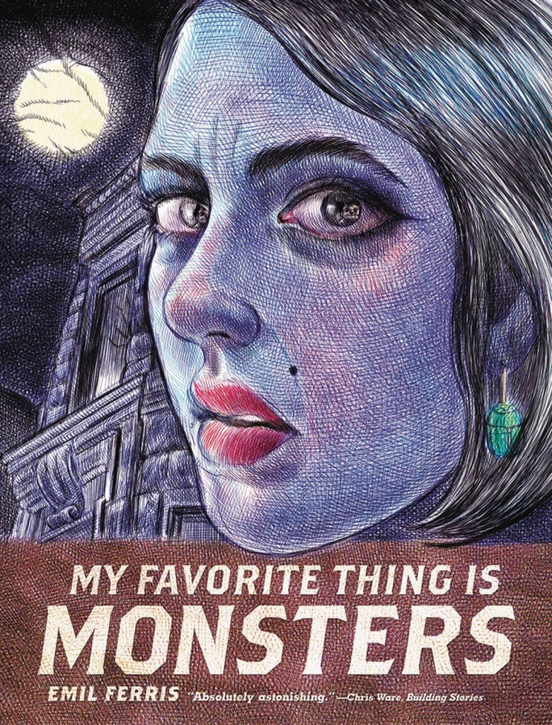 My Favorite Thing Is Monsters Wins Reuben Award for Best GN!