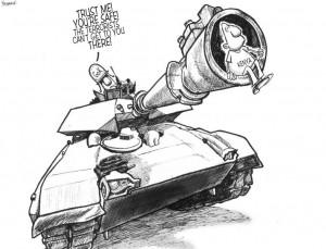 Cartoonist Outspoken Despite Political Unrest in Kenya