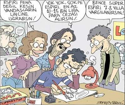 Sefer Selvi cartoon