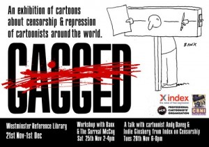 London Cartoon Censorship Exhibit Ends Friday