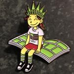 raina CBLDF pin