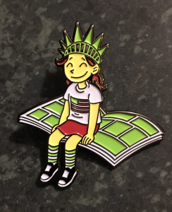 Get New Raina Telgemeier Pin & All-Star Anthology When You Support CBLDF on #GivingTuesday!