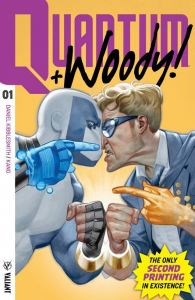 Valiant's QUANTUM AND WOODY Reprinted: CBLDF to Auction the Rarest Second Printing of All Time!