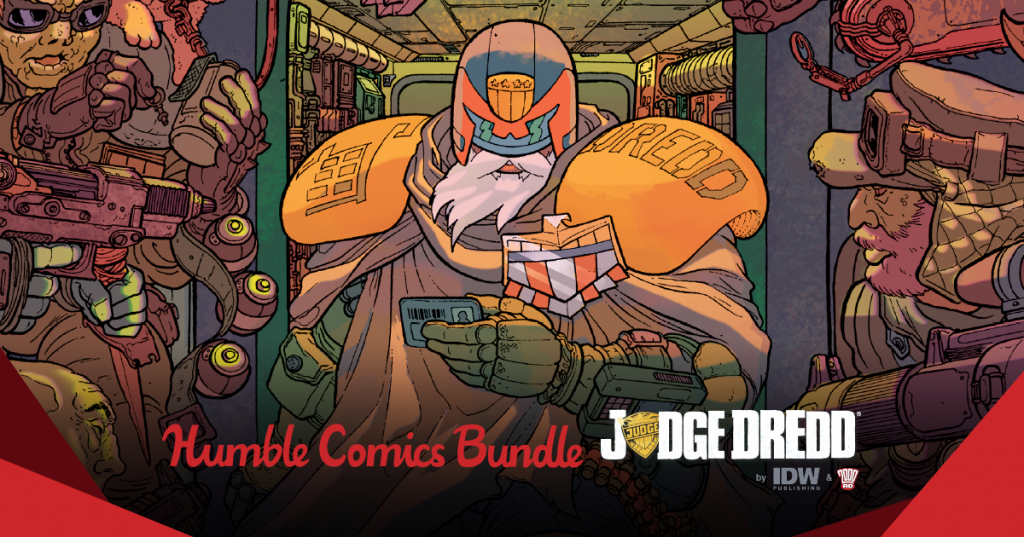 The Humble Comics Bundle: Judge Dredd by IDW & 2000AD Benefits Charity, Including CBLDF!