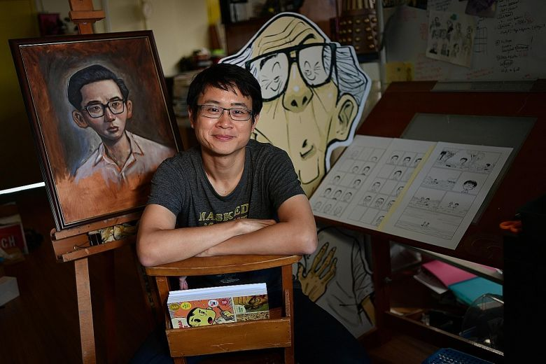 Sonny Liew Nominated for Singaporean of the Year