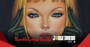 Don't Miss Out! Judge Dredd by IDW & 2000AD Charity Humble Bundle
