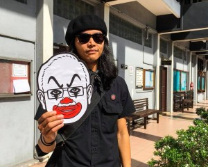 Photo from Fahmi Reza's Facebook page.