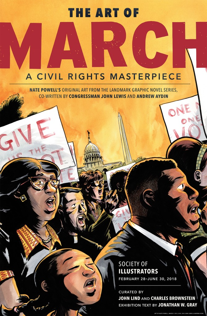 Join Us for The Art of March: A Civil Rights Masterpiece