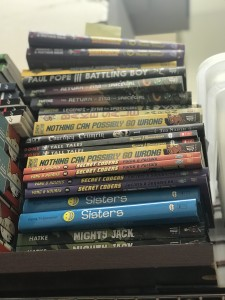 Graphic Novel Stack