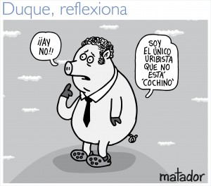 Colombian Cartoonist Sued Over Political Pig