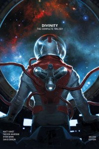 Divinity HCs Signed by Matt Kindt, Jeff Lemire, & Joe Harris Benefit CBLDF!