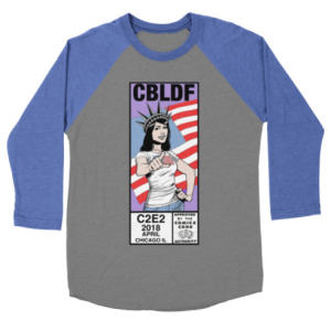 CBLDF Unveils Exclusive Shirt at C2E2 for Donors!