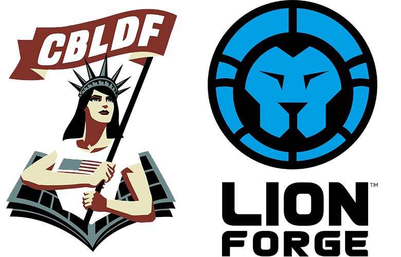 CBLDF Welcomes Lion Forge as Newest Corporate Member!