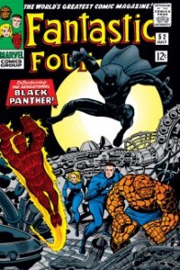 Fantastic four 52 Introducing Black Panther July 1966